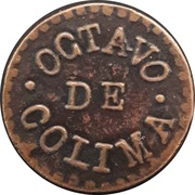 Jeton - Colima – avers