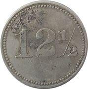 12½ Centavos - Sociedad Explotadora de Palo de Tinte – revers