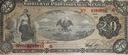 20 Pesos (Gobierno Provisional de México) – avers