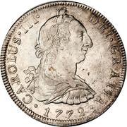 8 reales - Carlos III (monnaie coloniale) -  avers