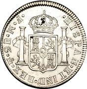 2 reales - Carlos III (monnaie coloniale) – revers