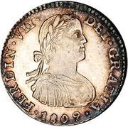 1 real - Ferdinand VII (monnaie coloniale) – avers