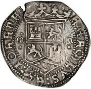 2 reales - Charles I (monnaie coloniale) – avers