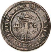 4 maravedis - Charles I (monnaie coloniale) – revers