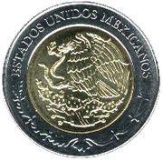 5 pesos Carlos María de Bustamante -  avers