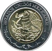 5 pesos Alvaro Obregon -  avers