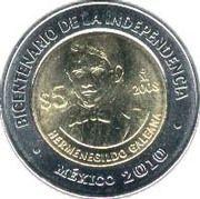 5 pesos Hermenegildo Galeana -  revers