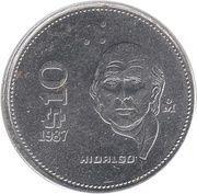 10 pesos Hidalgo -  revers