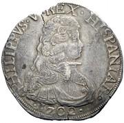 1 filippo - Filippo IV – avers