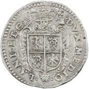1 ducatone - Felipe II -  revers