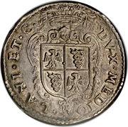 1 Testone - Felipe II – revers