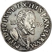 1 ducatone - Filippo II – avers