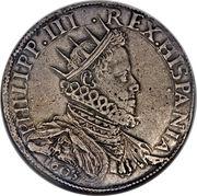 1 ducatone - Filippo III – avers