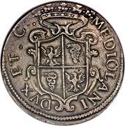 1 ducatone - Filippo III – revers