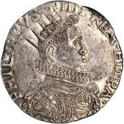 1 ducatone Philip IV -  avers