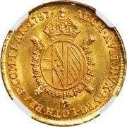 ½ sovrano - Joseph II -  avers