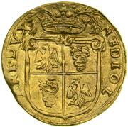 1 doppia Filippo II – revers