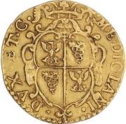 1 doppia - Carlo II – revers
