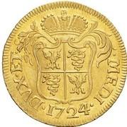 1 doppia Carlo III -  avers
