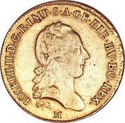 1 sovrano Joseph II – avers