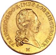 1 sovrano - Franz II – avers