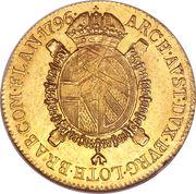 1 sovrano - Franz II – revers