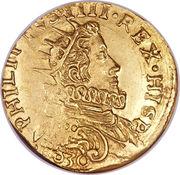 2 doppie - Filippo IV – avers