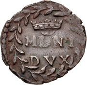 1 quattrino - Carolus II – revers