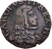 1 quattrino - Carlo II – avers