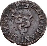 1 quattrino - Carlo II – revers