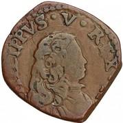Quattrino - Filippo V – avers
