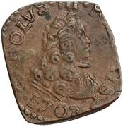 1 quattrino - Carlo III – avers