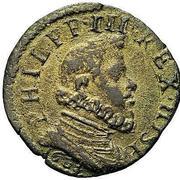 1 quattrino - Filippo III – avers