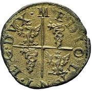 1 quattrino - Filippo III – revers
