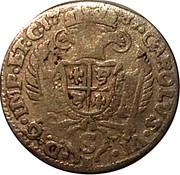 5 soldi Carlo VI – avers