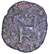 1 trillina Filippo II - 3éme type – avers