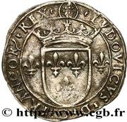 Louis XII - Duché de Milan - Gros royal de six sous – avers