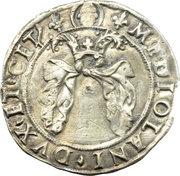 3 soldi - Louis XII -  avers