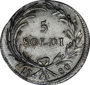 5 soldi - Maria Theresia – revers