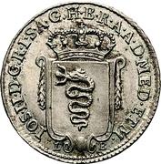 5 Soldi - Joseph II – avers