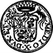 10 Soldi - Carlo III -  avers