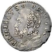 20 soldi - Filippo II – avers