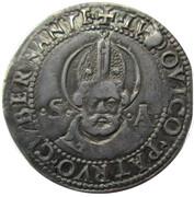 Milan, Duchy of  1 Grosso  Regency of Gian Galeazzo Sforza – revers