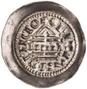 1 denaro - Berengar I – revers