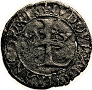 Louis XII - Duchy of Milan - 1/2 Soldino or Sizain – avers