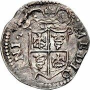 Parpaiolle Philippe III d'Espagne - Duché de Milan -  avers