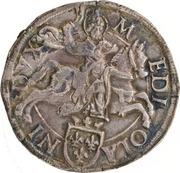 1 testone - Louis XII -  revers