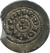 Denaro scodellato - 1039-1220 AD (Emissions on behalf of Emperor Henry) – revers
