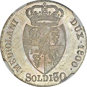 30 Soldi - Franz II -  avers