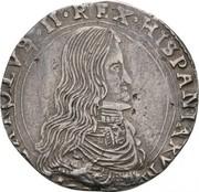½ filippo Carlos II – avers